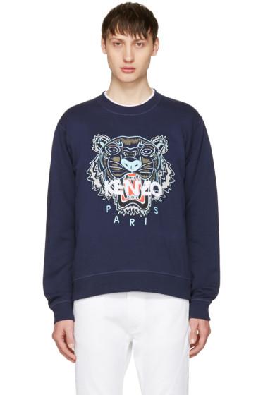 Kenzo - Navy Tiger Sweatshirt