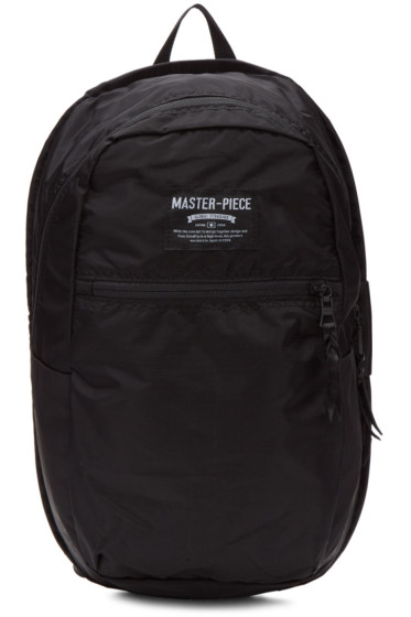 Master-Piece Co - Black Small Pop'n'Pack Backpack