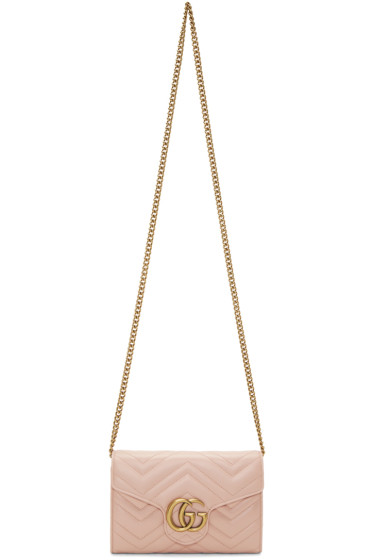 Gucci - Pink GG Marmont 2.0 Bag
