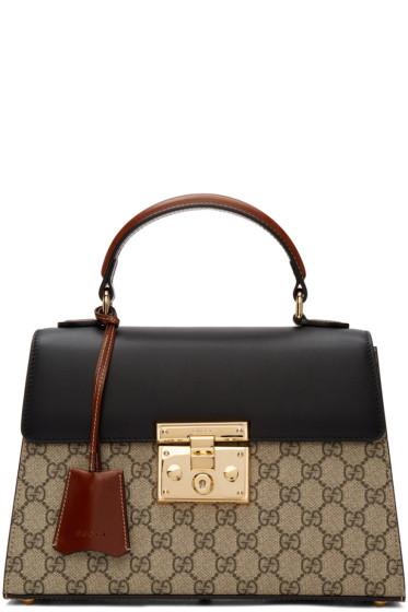 Gucci - Multicolor GG Supreme Padlock Bag