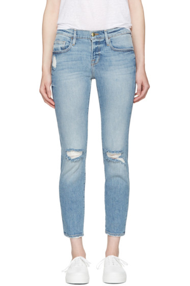 Frame Denim - Blue 'Le Boy' Jeans