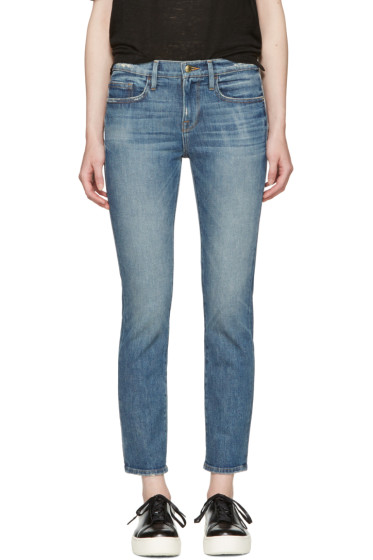 Frame Denim - Indigo 'Le Boy' Jeans