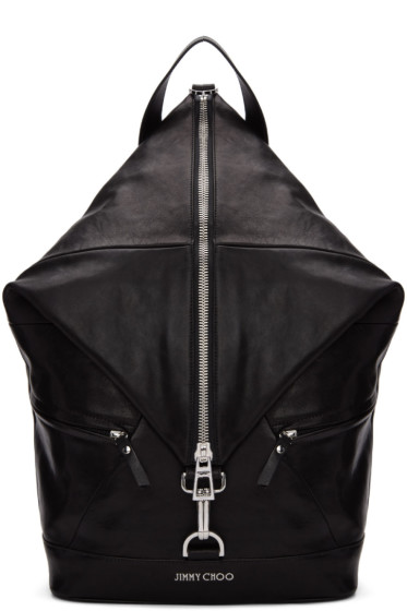 Jimmy Choo - Black Fitzroy Backpack