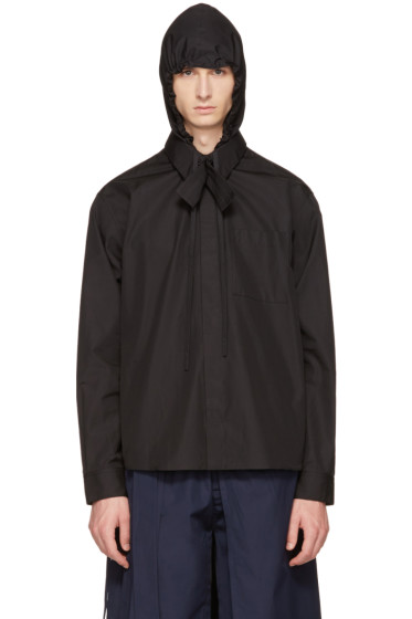 Craig Green - Black Hooded Shirt