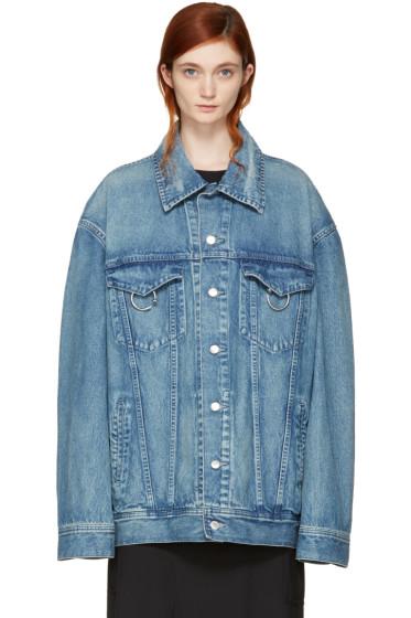 Ambush - Blue Oversized Denim Jacket