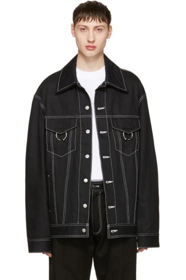 Ambush - Black Oversized Denim Jacket