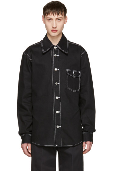 Ambush - Black Denim Overshirt