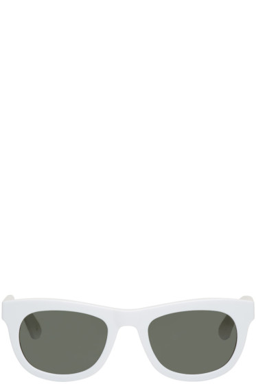 Han Kjobenhavn - White Cubicle Sunglasses