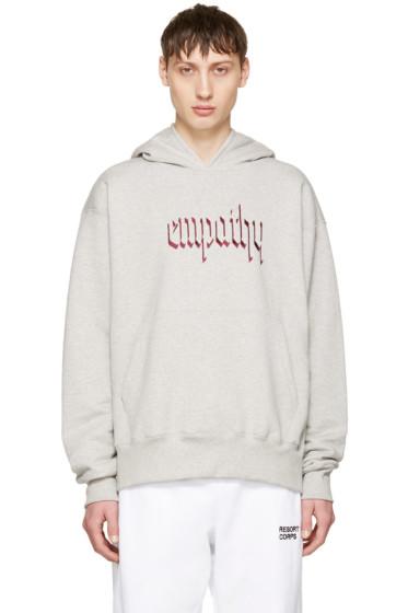 Resort Corps - Grey 'Empathy' Hoodie