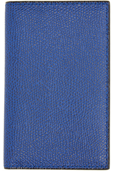 Valextra - Blue Business Card Holder