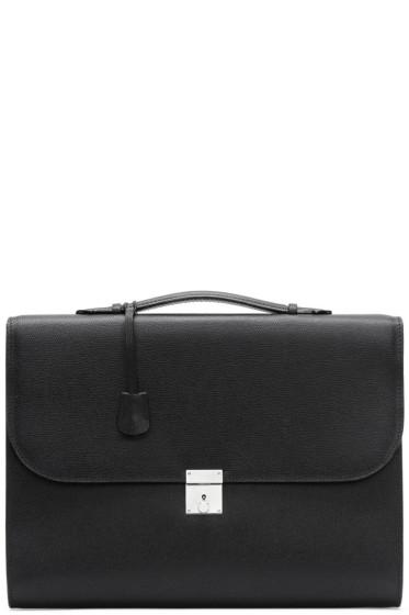 Valextra - Black Portfolio Briefcase