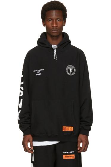 Heron Preston - Black DSNY Edition 'Uniform' Hoodie