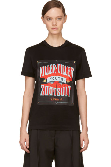 Juun.J - Black Killer-Diller New Era Edition T-Shirt