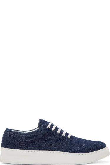 Krisvanassche - Indigo Denim Sneakers