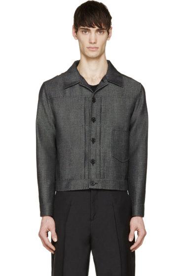 Yang Li - Charcoal Twill Jacket