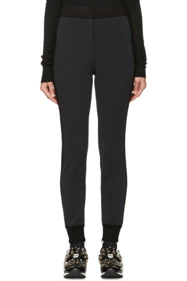 Dolce & Gabbana - Grey & Black Tux Striped Lounge Pants