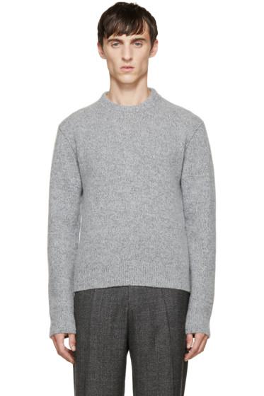 Calvin Klein Collection - Grey Wool Sweater