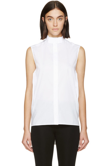 Paco Rabanne - White Sleeveless Tunic