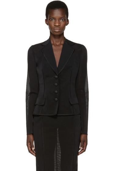 Dolce & Gabbana - Black Organza Blazer