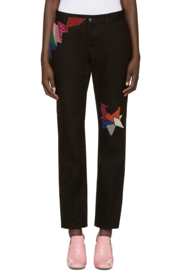 Christopher Kane - Black Shard Jeans