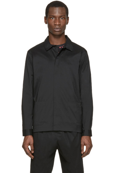 Christopher Kane - Black Stretch Poplin Jacket