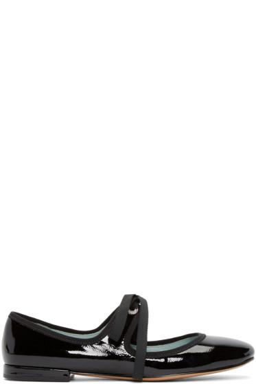 Marc Jacobs - Black Lisa Mary Jane Ballerina Flats