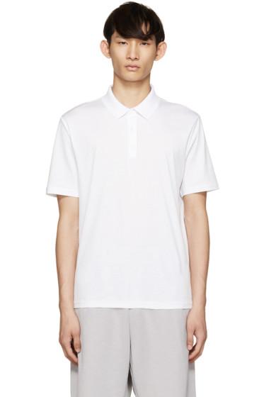 T by Alexander Wang - White Cotton Polo