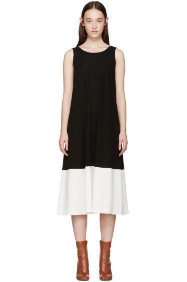 Jil Sander - Black & White Trapeze Dress