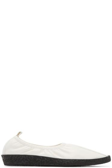 Raquel Allegra - Ivory Coclico Edition Pelen Ballet Creepers