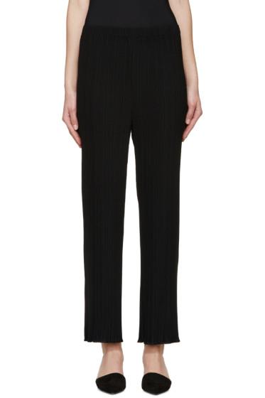Proenza Schouler - Black Pleated Trousers