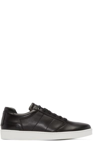 Want Les Essentiels - Black Lennon Low-Top Sneakers