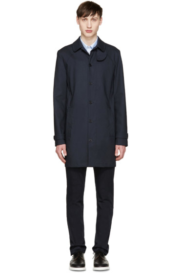 Carven - Navy Trench Coat