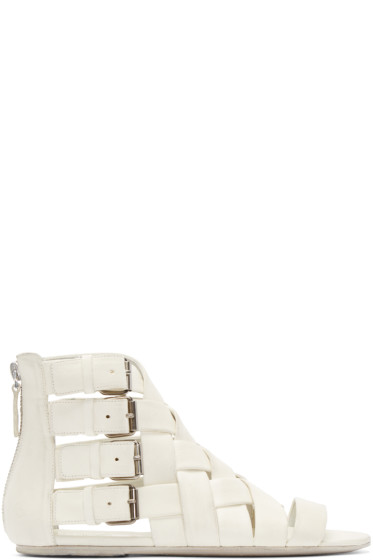 Marsèll - White Braided Gladiator Arsella Sandals