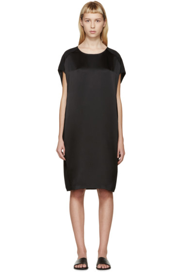 Calvin Klein Collection - Black Silk Fia Dress