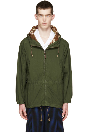 Visvim - Green Nakota Jacket