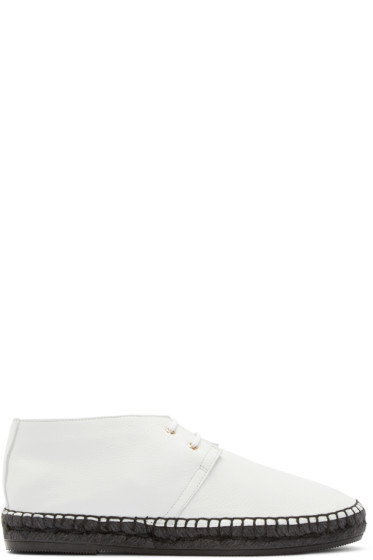 Robert Clergerie - Off-White Leather Eloise Shoes