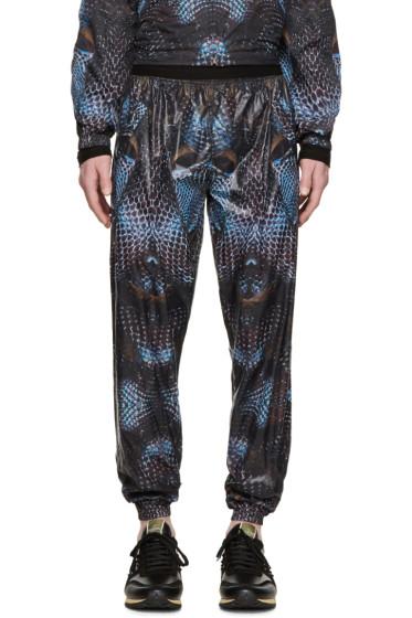 Marcelo Burlon County of Milan - Black & Blue Potosi Lounge Pants