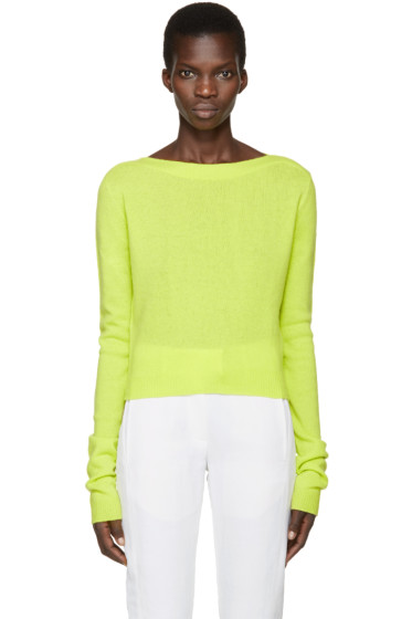 Haider Ackermann - Green Invidia Sweater