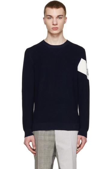Moncler Gamme Bleu - Navy Crewneck Sweater