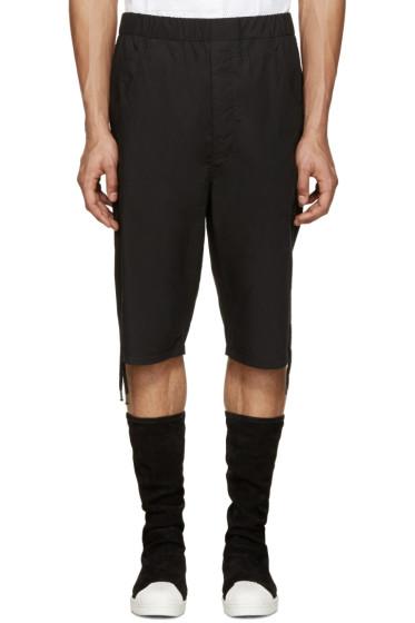 Alexandre Plokhov - Black Drawstring Shorts