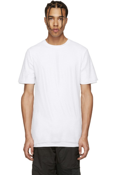 Alexandre Plokhov - White Layered Mesh T-Shirt