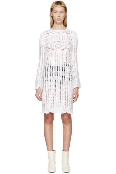 Isabel Marant Etoile - White Crocheted Hariett Dress