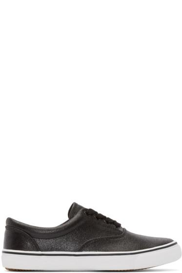 Johnlawrencesullivan - Black Canvas Sneakers