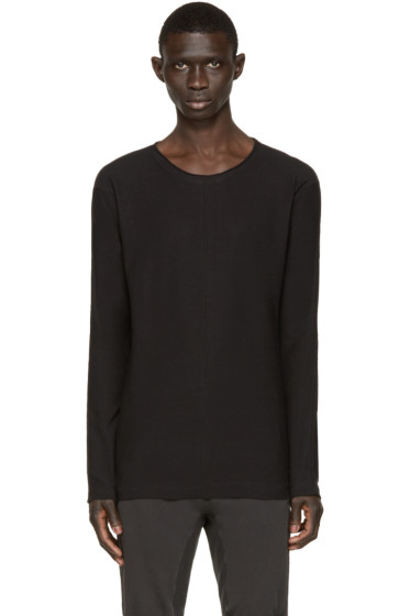 Nude:mm - Black Long Sleeve T-Shirt