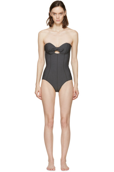 Lisa Marie Fernandez - Black Poppy One-Piece Swimsuit
