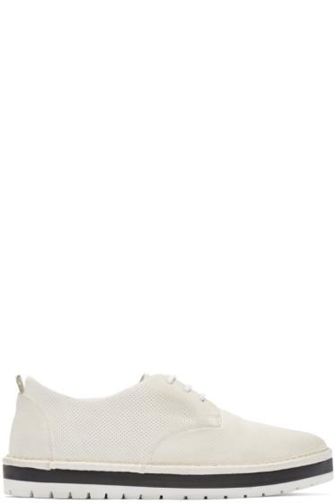 Marsèll Gomma - White Perforated Sancrispa Derbys