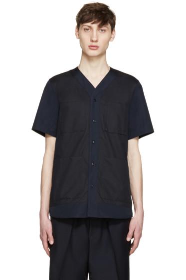 OAMC - Navy Poplin Savana Shirt
