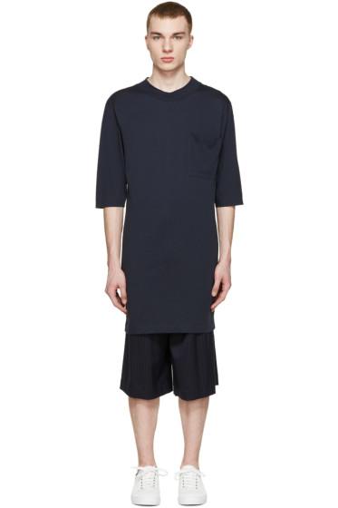 Etudes - Navy Illusion Lune T-Shirt