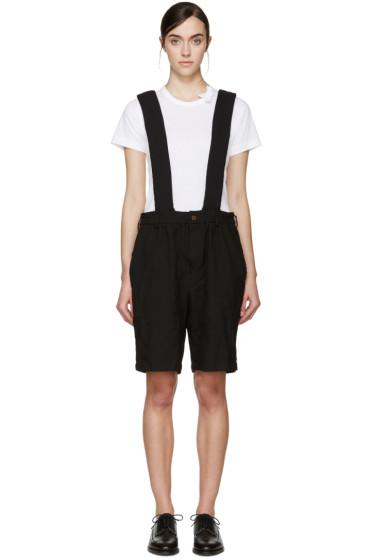 Comme des Garçons Girl - Black Suspender Shorts