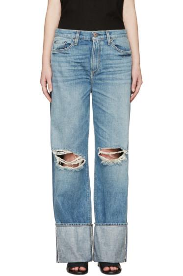 Simon Miller - Blue Cuffed Arapo Jeans